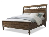 Southern Pines Sleigh Bed Queen Product Image