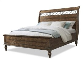 Southern Pines Sleigh Bed King