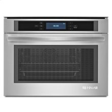 "24"" Steam and Convection Wall Oven Stainless Steel"