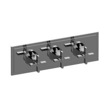 M-Series Valve Horizontal Trim with Three Handles