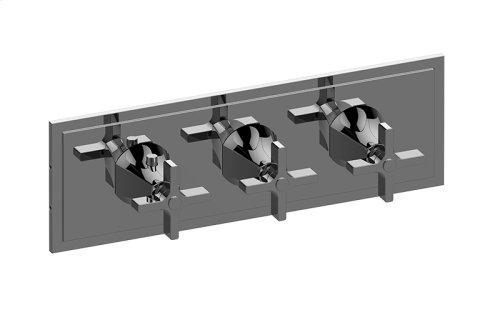 M-Series Valve Horizontal Trim with Three Handles