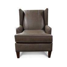 Leather Olive Arm Chair 474AL