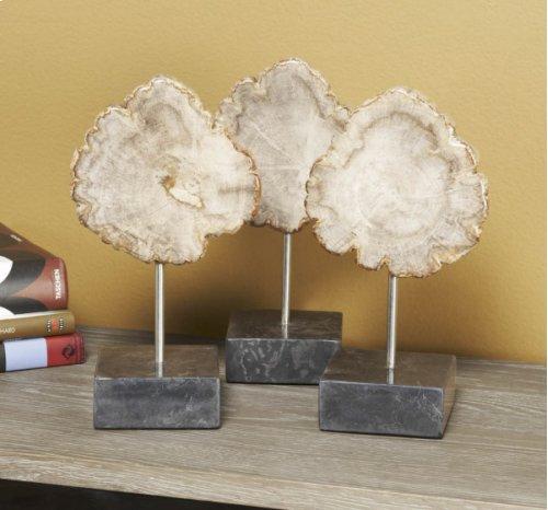 Serang Small Petrified Wood Trio