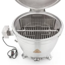 "Blaze 20"" Kamado Rotisserie Kit with Charcoal Basket"