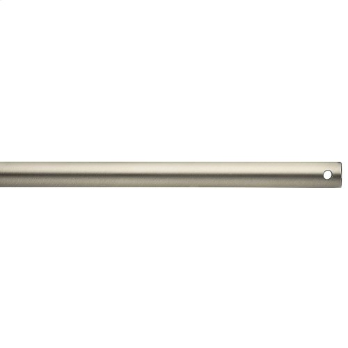 "Basics Non-Threaded 36"" Downrod Brushed Nickel"