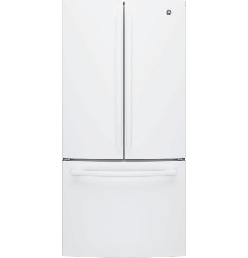 GE® ENERGY STAR® 24 7 Cu  Ft  French-Door Refrigerator