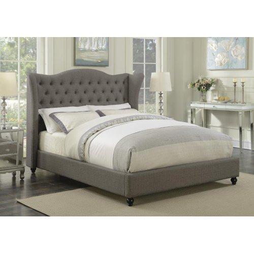 Newburgh Grey Upholstered Full Bed