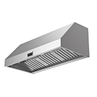 "48"" Pro Wall-mount Hood - Stainless Steel"