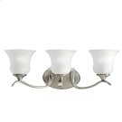 Wedgeport Collection Wedgeport 3 Light Fluorescent Bath Light - NI Product Image