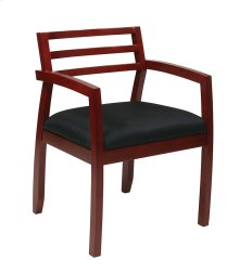 Napa Cherry Guest Chair With Wood Back