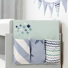 Changing Table runner and banner - Blue