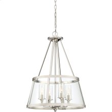 Barlow Pendant in Polished Nickel
