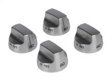 Range Premium Knob Kit - Stainless Steel
