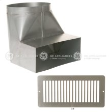 Range Hood Recirculation Kit for Customer Insert