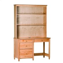 Shaker Desk with Hutch