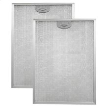 "Aluminum Replacement Grease Filter with Antimicrobial Protection for 42"" QP2 Series"