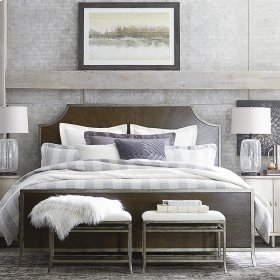 Cal King/Brindle Palisades Panel Bed