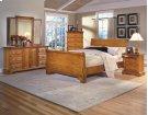5 Piece Bedroom - 3 PC Bed, Dresser, Mirror Product Image