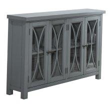 Bayside 4 Door Cabinet - Robin's Egg Blue