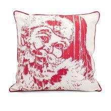 Homestead Christmas Vintage Santa Pillow