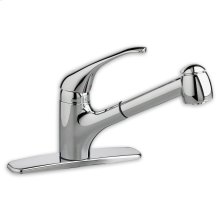 Polished Chrome Reliant + Pullout Faucet