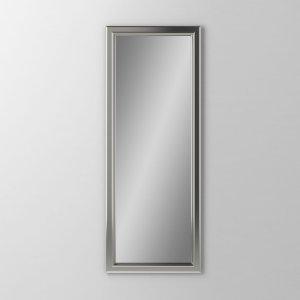 "Main Line 15-1/8"" X 39-7/8"" X 1-5/8"" Bryn Mawr Framed Mirror In Satin Nickel Product Image"
