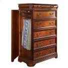 Gentleman's Chest W/Side Storage Product Image