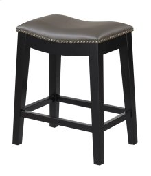 "Emerald Home Briar 24"" Bar Stool Elephant Gray D107-24-13"