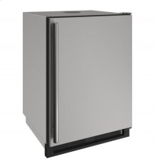 """1000 Series 24"""" Outdoor Keg Refrigerator With Stainless Solid Finish and Field Reversible Door Swing (115 Volts / 60 Hz)"""