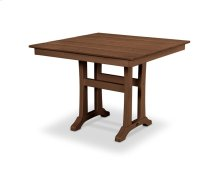 "Teak Farmhouse 37"" Dining Table"