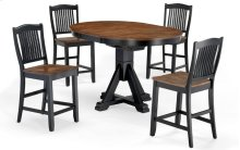 Slat Back Stool (ebony)