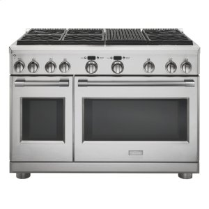 "MonogramMonogram 48"" Dual-Fuel Professional Range with 6 Burners and Grill (Natural Gas)"