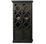 Corinne Display Cabinet Ebonized Acacia finish Product Image