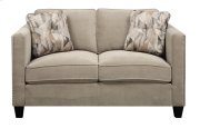 Loveseat Granite W/2 Accent Pillows Product Image