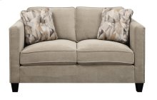 Loveseat Granite W/2 Accent Pillows