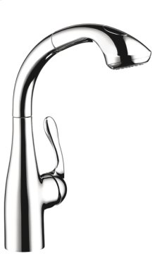 Chrome SemiArc Kitchen Faucet, 2-Spray Pull-Out, 1.75 GPM