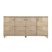 Resort - Ocean Breakers TV Console In Sandy Linen