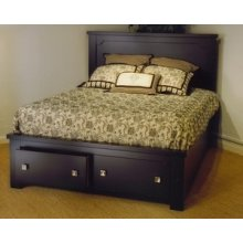Panel Storage Bed