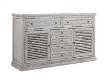 Emerald Home B506-01 Havenwood Dresser, Gray