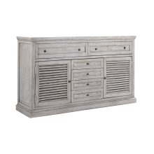 Emerald Home B506-01 Havenwood Dresser, Gray