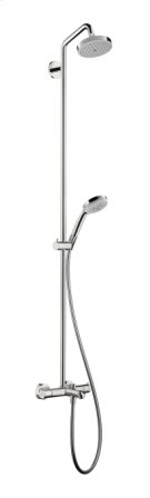 Chrome Showerpipe 150 1-Jet with Tub Filler, 2.0 GPM Product Image