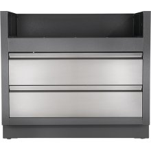 OASIS Under Grill Cabinet for Built-in LEX 605 , Grey