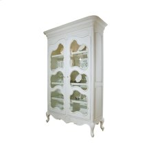 Camille Armoire with Seeded Glass Doors