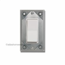 Craftsman Single Rocker Switch Plate