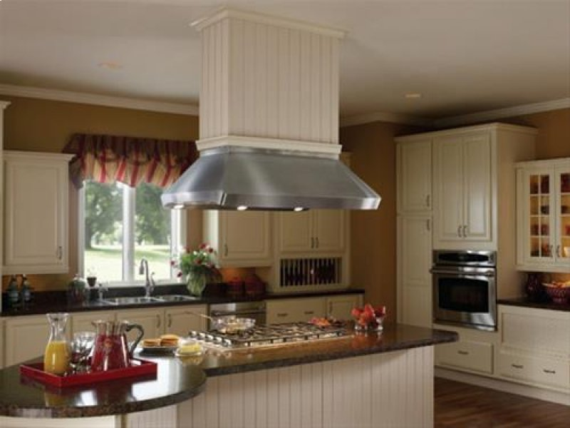 Centro Island 42 X 32 Stainless Steel Range Hood With Internal