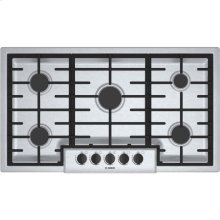 """36"""" Gas Cooktop 500 Series - Stainless Steel (Scratch & Dent)"""