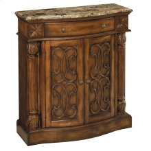 William 2-door 1-drawer Cabinet