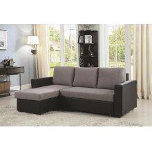 Baylor Casual Grey Sofa
