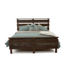 Hillsboro Bed (barnwood or Walnut) - King Headboard Only(gray Barnwood)