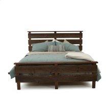 Hillsboro Bed (barnwood or Walnut) - Queen Bed (gray Barnwood)